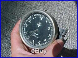 Original Pre Wwii German 8 Day Ota Clock From Aircraft Vehicle