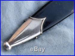 Original Vet Acquired German WWII Black Dagger Scabbard