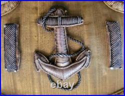 Original WW1 US Navy Lieutenant Line Officer Formal Dress Epaulettes EXCELLENT