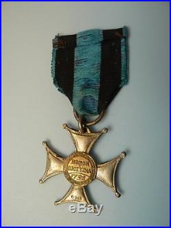 POLAND POLISH VIRTUTI MILITARI WWII, TYPE II, 5th class, numbered, high number