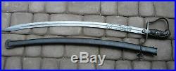 POLISH before WWII ULAN Cavalery PILSUDSKI LEGIONS SABRE SWORD Engraved Blade
