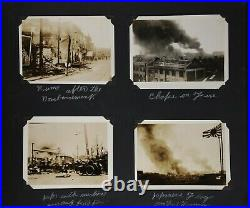 Photo Album USS CANOPUS 1932 China & Philippines Asiatic Fleet Shangai Bombing