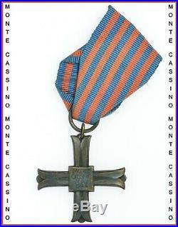 Poland Monte Cassino Cross For Officer Of Artillery Ww2 Rare (5939)