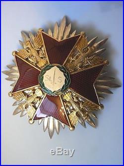 Poland Order Of St Stanislaw (stanislaus) Association, Grand Cross Set, 2001