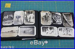 Pre WW2 Photo Album 1926 USS Noa US Navy China Duty Shanghai 300+ Photographs