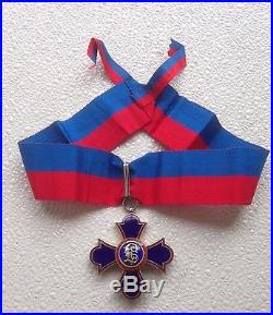 Princely Order of Merit of Liechtenstein, Commander's cross on ribbon