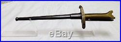 Pritchard-Greener Revolver bayonet
