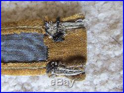 RARE Original Elite German Military Bullion Cuff Title Afrika Tunic Uniform USA