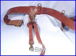 RARE Original Model 1921 U. S. ARMY OFFICER'S SAM BROWN BELT