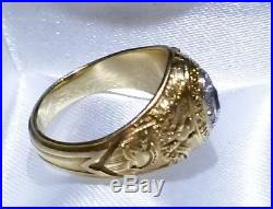 RAREWest Point 1928, TIFFANY & CO. Authentic 14k Gold Engagement Ring