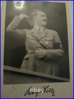 Rare! Adolf Hitler, Nuremberg 1934 Postcard