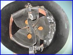 Rare Dutch M38 helmet sharp brim Stahlhelm casque casco elmo Kask