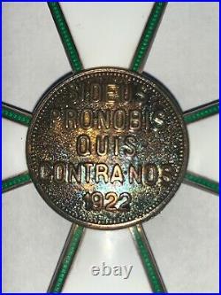 Rare Original 1922 Hungary Order Of Merit Commander Cross Medal Original Case