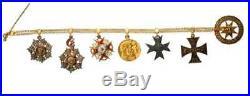 Rare Original Grand Cross 1 st Class Set, Order of Stanislaus, Cased