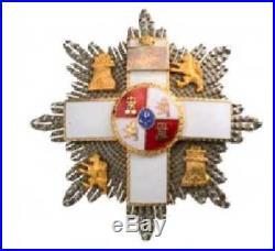 Rare Original Grand Cross of MILITARY MERIT for German General, Cased
