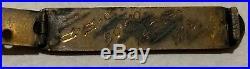 Rare Original Us Navy Uss Arizona Good Conduct Medal Bar 1928 Numbered