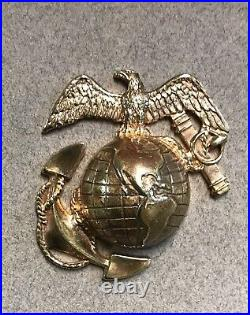 Rare Pre-WWII USMC Droop Wing China Marine EGA Set