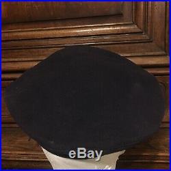 Rare Pre WWII USS Pennsylvania Battleship Donald Duck Flat Hat Navy Cap Pre-1933