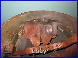 Rare Swedish M21(-18) army steel helmet casque Stahlhelm casco elmo m WW2