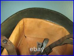 Rare complete Peruvian M34 helmet casque Stahlhelm casco elmo m WW2 Perou
