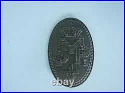 Romania Kingdom Queen Mary Regiment Badge Medal # 302 Rare