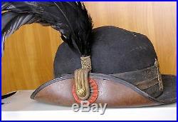 Romania Mountain Hunters Regiment 9 King Alexander I Yugoslavia Officer Hat Cap