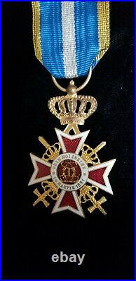 Romania Order of the Romanian Crown war medal