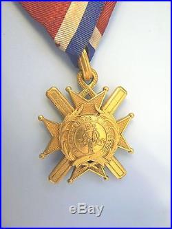 SERBIA, KINGDOM, ORDER OF TAKOVO, KNIGHT, very rare