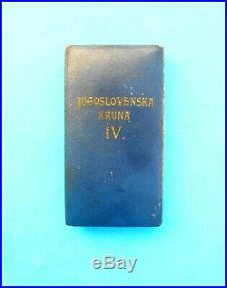 SERBIA YUGOSLAVIA KINGDOM Order YUGOSLAVIAN CROWN IV class by Huguenin CH