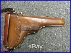 Swiss Military Luger Holster-for Models 1900 & 1906-excellent-dated 1919