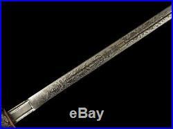 Scottish Black Watch Royal Highlanders Officer Sword Wilkinson King George the V