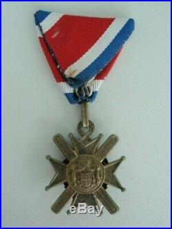 Serbia Order Of Takovo 5th Class. Rare