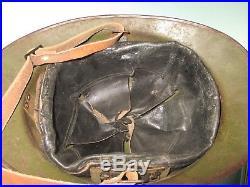 Signed M26 khaki Peruvian Peru Adrian helmet casque stahlhelm casco elmo