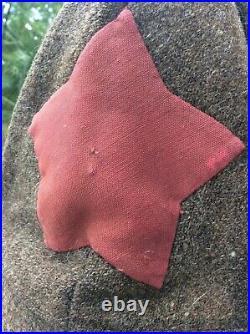 Soviet Red Army Winter Hat. Budenovka