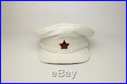Soviet Russian RKKA Summer Officer's Visor Cap Army military hat High Copy 1935y