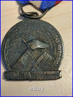 Spanish Civil War. Phalangist (Francoist Spain)& Fascisti (Italian) Medals (5x)