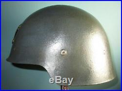 Spanish M21 helmet sin ala civil war casque stahlhelm casco elmo franco w