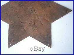 Star of David GERMANY WW2 wwII JEWS LIVE HERE German JUDEN LEBEN HIER Judaica