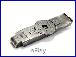 Swedish Mauser SM sikte F-ram Micrometer Rear Sight E825