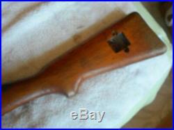 Swiss K 1911 K-11 schmidt rubins short rifle wood stock matching handguard K 11