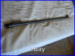 Swiss K31 schmidt rubins 7.5 cal rifle barrel w front & rear sights nice bore