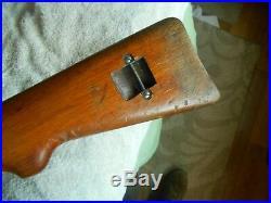 Swiss marked K31 schmidt rubins rifle wood stock w matching handguard K 31 K-31