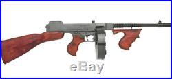 THOMPSON Al Capone tommy gun Military NON-FIRING S. M. G. SUB-MACHINE GUN replica