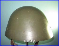 TOP Czechoslovak M32-34 helmet Danish reuse Stahlhelm casque casco Elmo