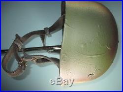 TOPrepro German M38 parachutist helmet fallschirmjäger casque casco kiver