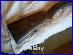 Turk Turkish model 88/38 mauser rifle wood stock w matching handguard & metal 88