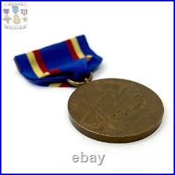 U. S. Marine Corps Yangtze Service Medal Full Wrap Brooch George W. Studley Type