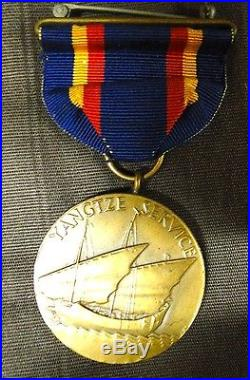 US Marine Corps Yangtze Medal M. No. 1479