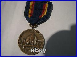 US Marine Corps Yangtze Service Medal marked M No. 4127