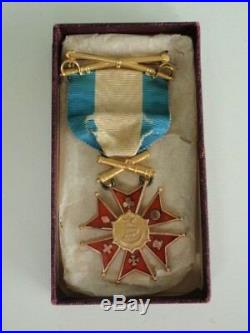 USA Army Of The Potomac Society Badge Medal. Made In Gold. Boxed. Rare! Mint